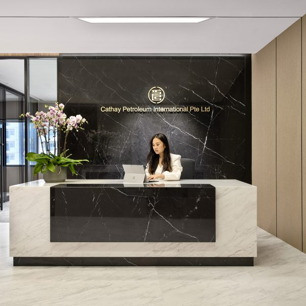 Cathay Petroleum office front desk