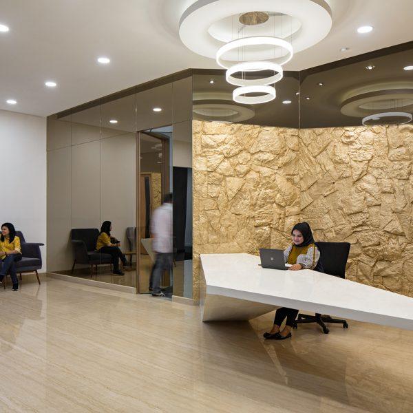 FMI office holding area design