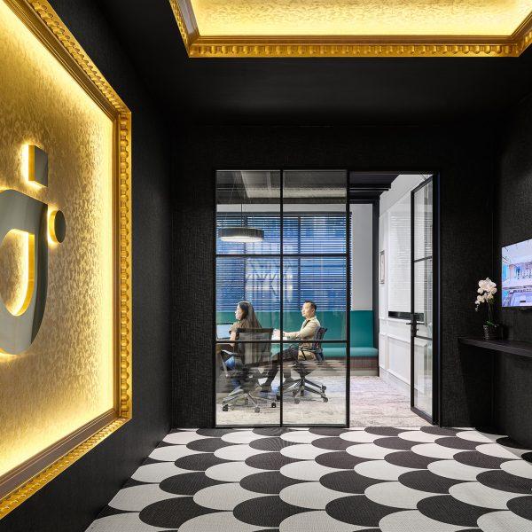 IDI office front entrance design