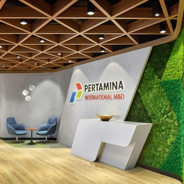 Pertamina Office Holding Area